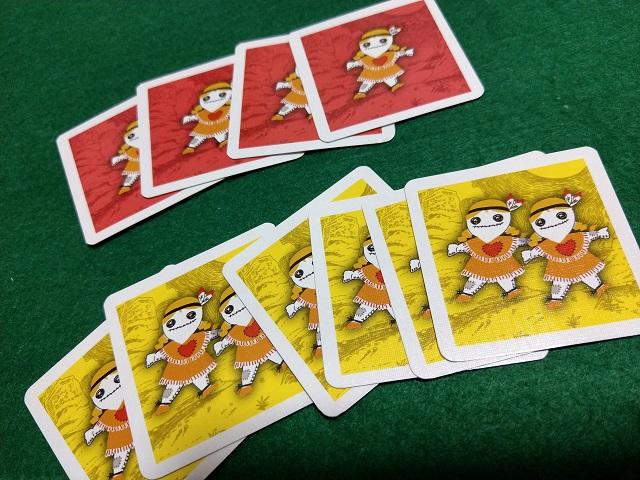 ボードゲーム「コヨーテ」のライフカード